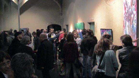 La inauguració de l'exposició ha reunit un centenar d'assistents