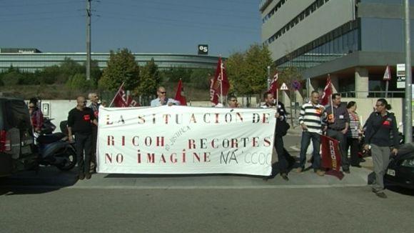 Acord entre direcció i comitè d'empresa a Ricoh