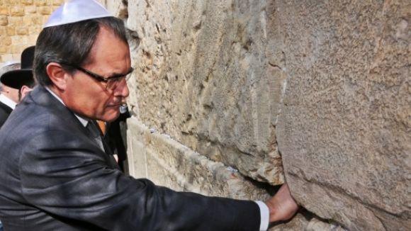 El CASC lamenta la visita d'Artur Mas a Israel