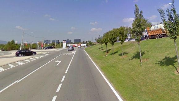 Millores de seguretat viària a la carretera de Rubí