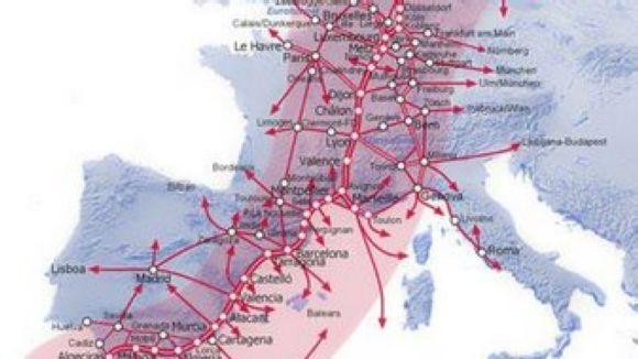 Conesa demana que el Corredor Mediterrani inclogui mesures d'impacte sonor
