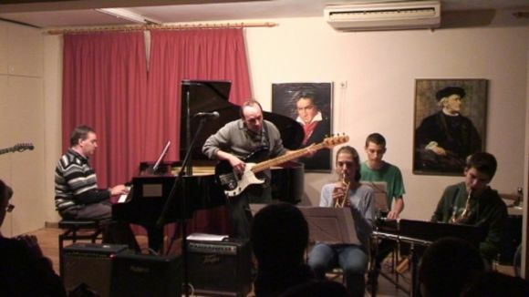 L'escola de música Fusió s'omple de ritme per Santa Cecília