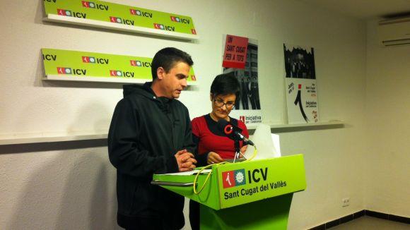 ICV-EUiA demana al govern més inversió social per a Sant Cugat al 2014