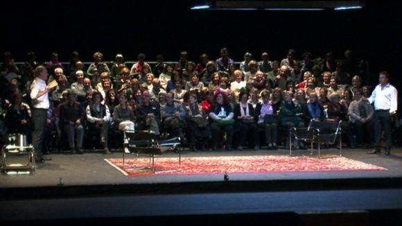 Els aficionats a la lectura es troben a Sant Cugat amb el teatre com a excusa