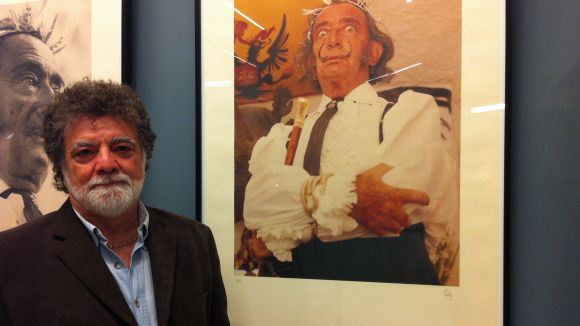 Lluís Ribas mostra fotogràfies inèdites de Salvador Dalí