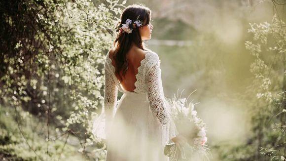 Un dels vestits dissenyats per Laura Vila / Foto: Facebook Laura Vila Atelier