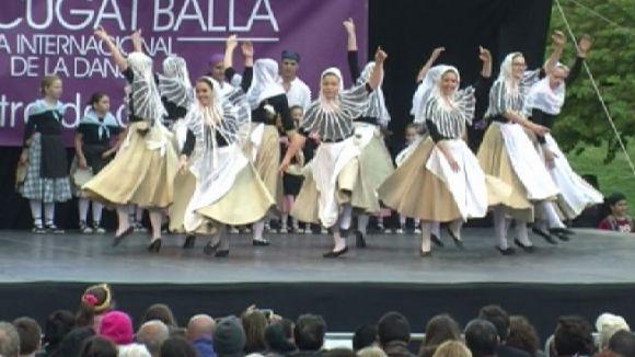 La 13a Mostra de Dansa ha tingut lloc al parc de Ramon Barnils