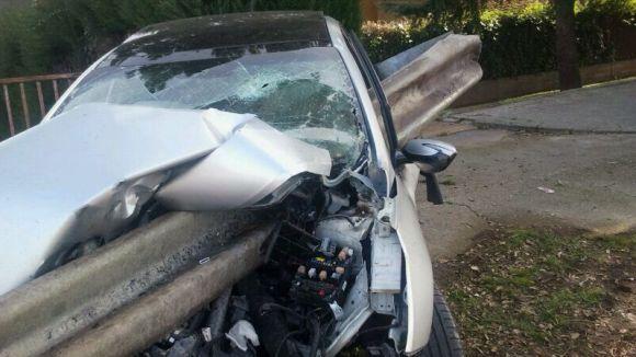 Un accident de trànsit i una intoxicació etílica, balanç de la nit de Cap d'Any