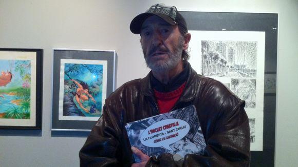 M. Fuster: 'El meu estil dibuixant és més torturat després de viure 15 anys al carrer'
