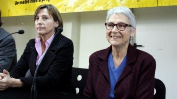 Muriel Casals i Carme Forcadell reflexionaran sobre la independència a Sant Cugat
