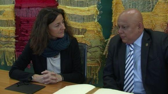 Sant Cugat estreny vincles amb el consolat de l'Equador