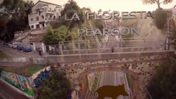 La Floresta, camp de proves d'un projecte per gravar imatges aèries
