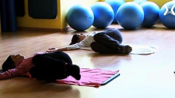 'Efectes positius' mostra els efectes de respirar bé