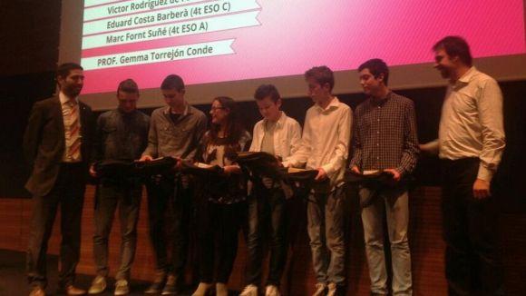 Els Mobile Learning Awards premien alumnes de l'institut Joaquima Pla i Farreras