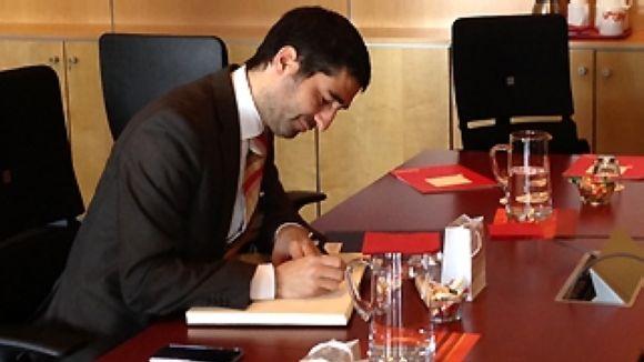 Puigneró assegura a Ricoh la intenció de dotar el país de la major connectivitat