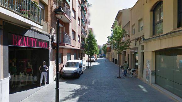 Talls de trànsit a l'avinguda de Francesc Macià i el carrer de Sant Bonaventura