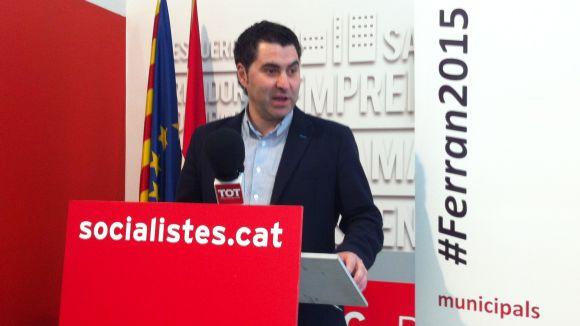 Ferran Villaseñor signa el manifest socialista crític a favor de la consulta