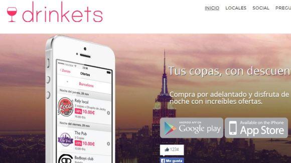 Arriba una 'app' per tenir descomptes en copes a locals d'oci nocturn