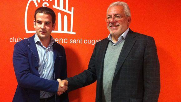Ussía Tours es converteix en benefactor del Club Muntanyenc Sant Cugat