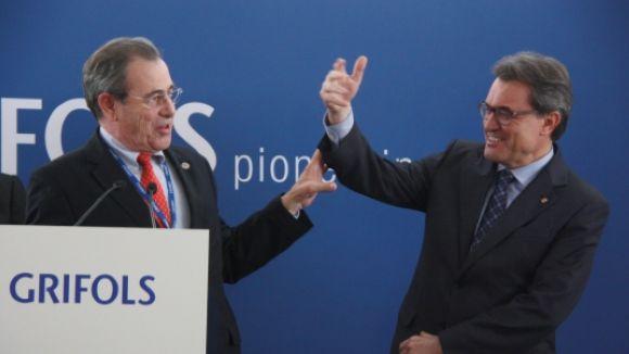 Víctor Grífols demana al president Mas que no s'arronsi en el procés sobiranista