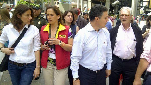 Conesa explica aquest dimecres a Medellín l'experiència local en sostenibilitat