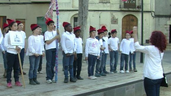 La Coral Infantil Fusió cantarà Caramelles pels carrers de la ciutat
