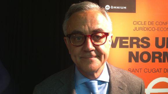 M.Puig: 'No hi haurà un cost econòmic per la independència de Catalunya'