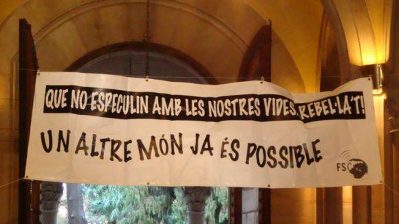 Arcadi Oliveres intervé en la 4a edició del Fòrum Social Català