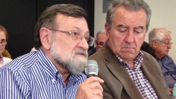 Sant Cugat se solidaritza amb l'ANC arran dels 'atacs' d''El País' i Manos Limpias