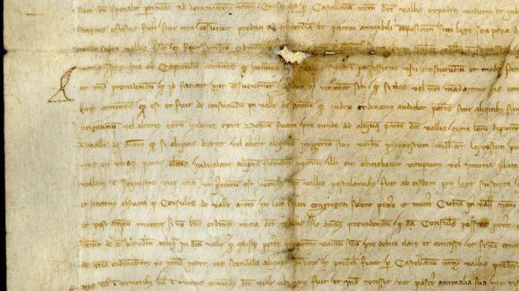 El CRBMC restaura la Querimònia, la carta magna dels aranesos