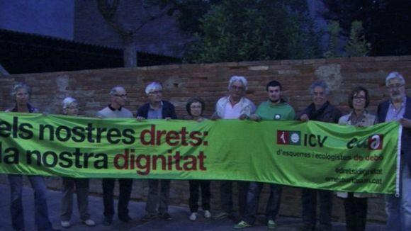 ICV porta el dret de decidir a Europa i referma la lluita contra les desigualtats