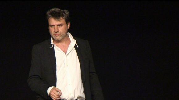 Alberto San Juan conversa amb el públic de Mira-sol