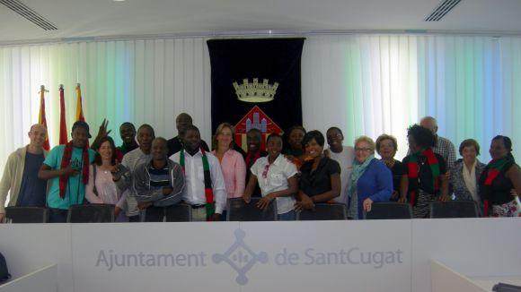 Emotiu comiat al Model Choir de Malawi
