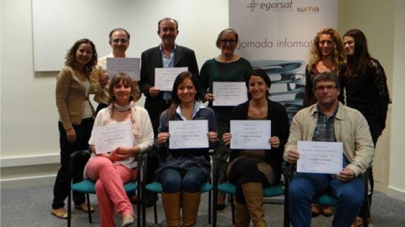 26 empreses i entitats locals reben el reconeixement d'Egarsat