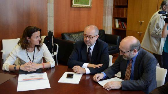 El govern, satisfet amb el projecte del CIT en eficiència energètica i manufactura