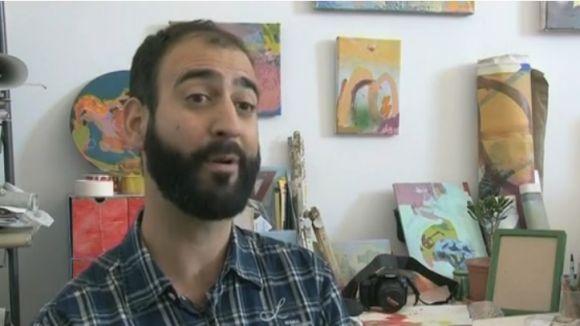 L'artista Carles Azcón centra un nou episodi del 'Cultura't'