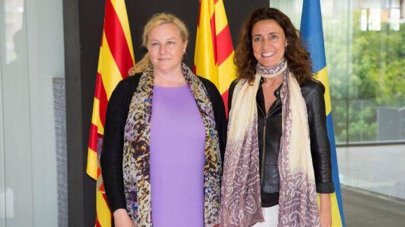 La ministra de Comerç sueca comprova el model econòmic i de transparència de Sant Cugat