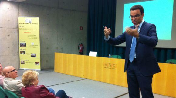 Joan Iglesias porta a Sant Cugat les claus de la futura Agència Tributària Catalana