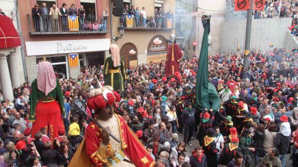 Imatge de la festa de la Patum / Foto: La Xarxa