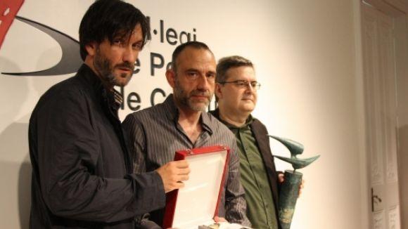 El fotoperiodista Ricardo García, premiat al Col·legi de Periodistes de Catalunya