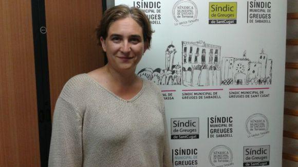 Ada Colau: 'Sant Cugat s'està quedant enrere en polítiques d'habitatge'