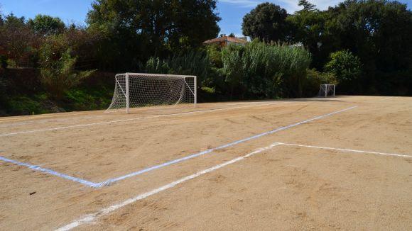 El camp de Valldoreix, nova seu dels casals esportius del territori