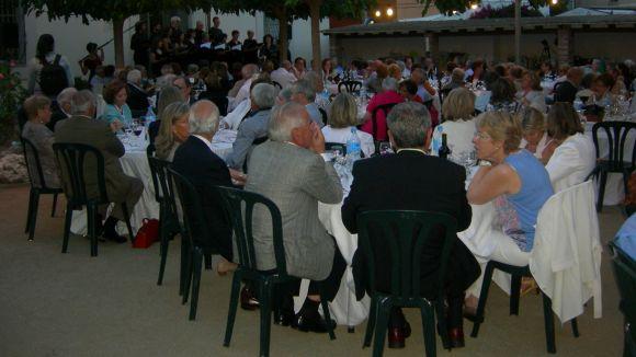 La Llar d'Avis de la Parròquia recapta més de 5.400 euros al seu sopar benèfic
