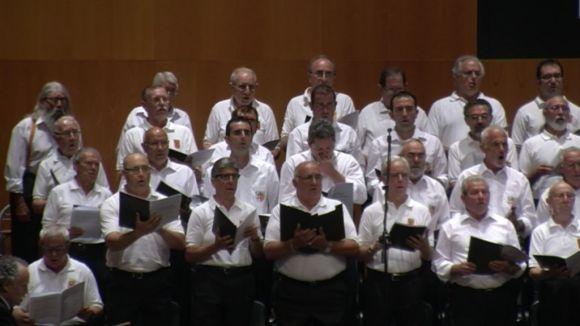 90 veus canten al Teatre-Auditori la lluita d'un país
