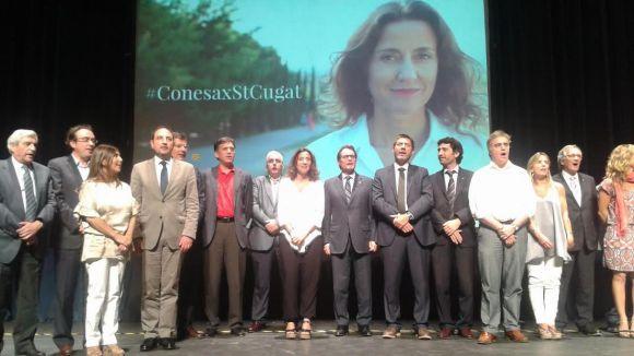 Conesa veu un Sant Cugat amb futur en una Catalunya lliure i socialment justa