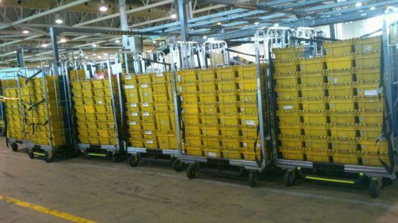 CGT assegura que la seu de Correus acumula ja més d'un milió de documents