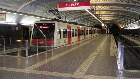 L'estació d'FGC de Plaça Catalunya tanca del 14 al 18 d'agost per manteniment