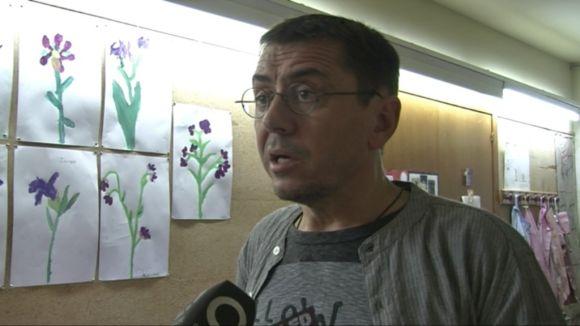 Monedero (Podem): 'Una part de la gent està cansada de l'independentisme'