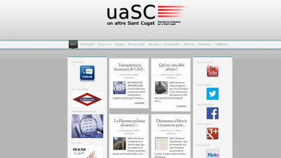 La uaSC publicarà els seus comptes cada trimestre