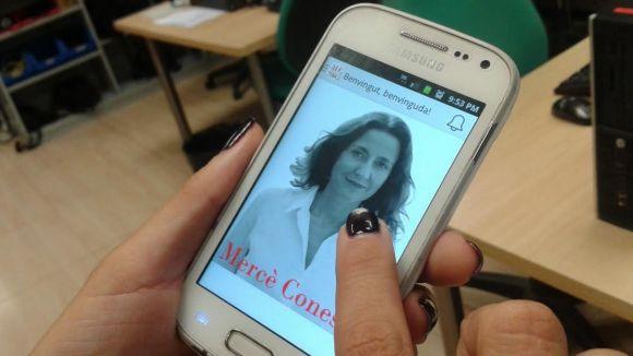 Conesa estrena una aplicació mòbil per acostar-se als santcugatencs